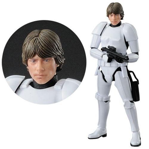 Star Wars Luke Skywalker Stormtrooper 1:12 Scale Model Kit