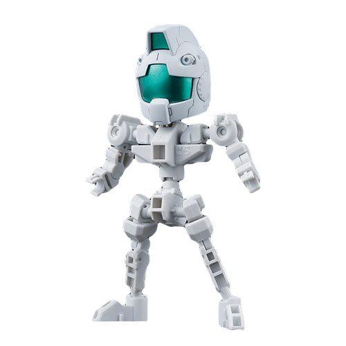 Mobile Suit Gundam Cross Silhouette Frame White Bandai SDGCS Model Kit