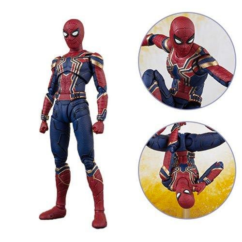 Картинки по запросу S.H.Figuarts Figures - Avengers 3 Infinity War Movie - Iron Spider And Stage