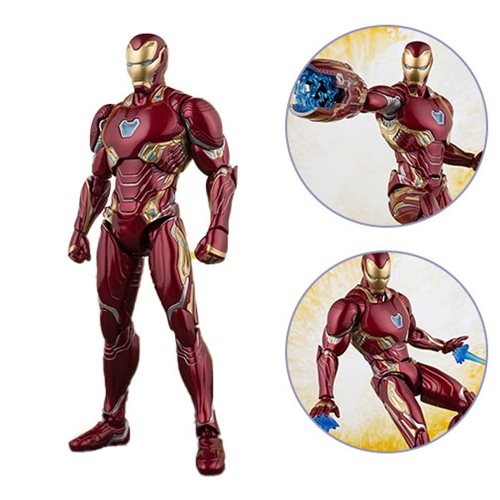 Картинки по запросу S.H.Figuarts Figures - Avengers 3 Infinity War Movie - Iron Man Mk50 And Stage
