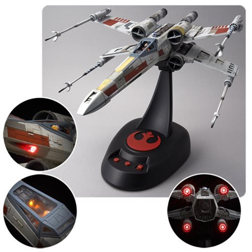 Star Wars X-Wing Starfighter Moving Edition 1:48 Scale Model