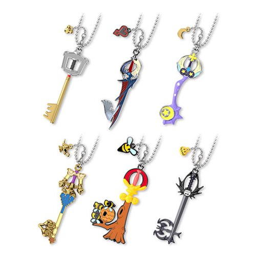 Kingdom Hearts Keyblade 2 Blind-Boxed Key Chain 6-Pack