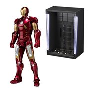 Iron Man Mark VII and Hall of Armor Set SH Figuarts Figure