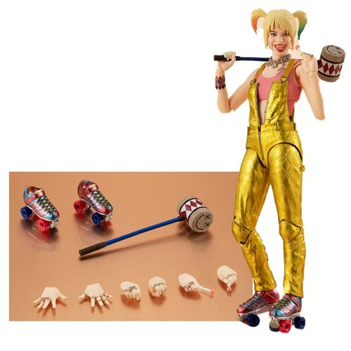 Birds of Prey: And the Fantabulous Emancipation of One Harley Quinn Harley Quinn SH Figuarts Action Figure