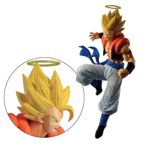 Dragon Ball Dokkan Battle Super Gogeta Ichiban Statue