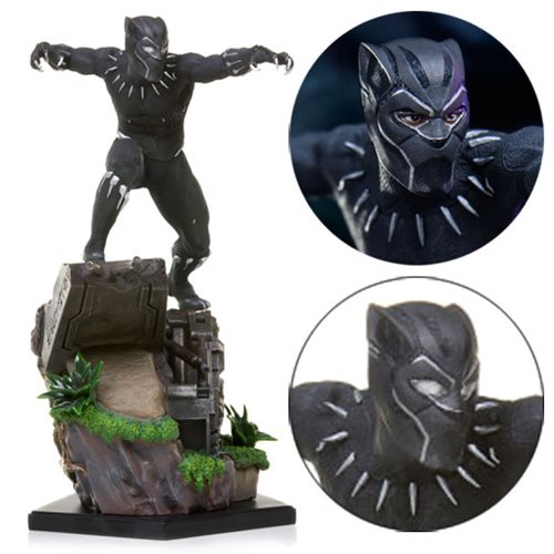 a49ff5224d1 Black Panther Black Panther Battle Diorama Series 1 10 Scale Statue