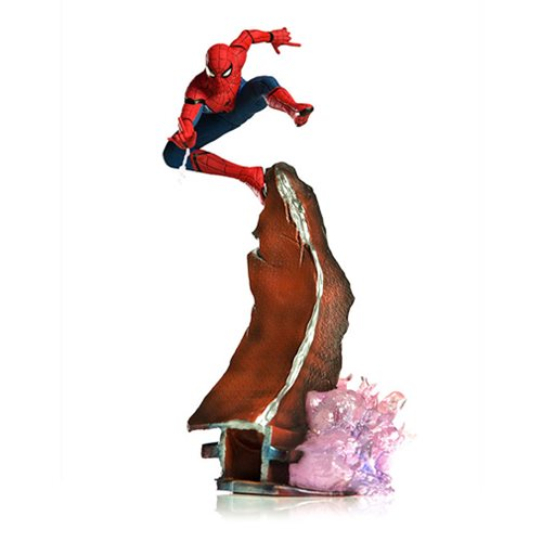 Spider-Man: Homecoming Spider-Man Diorama 1:10 Scale Statue