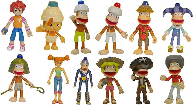 Ape Escape 2 Figure Case