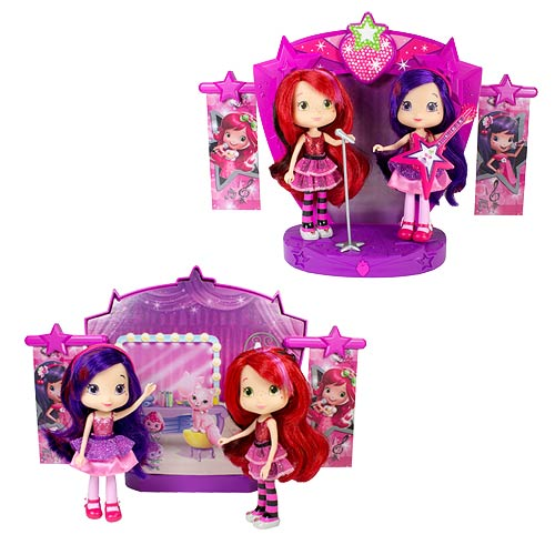 Strawberry Shortcake Sweet Beats Stage Playset with 2 Dolls
