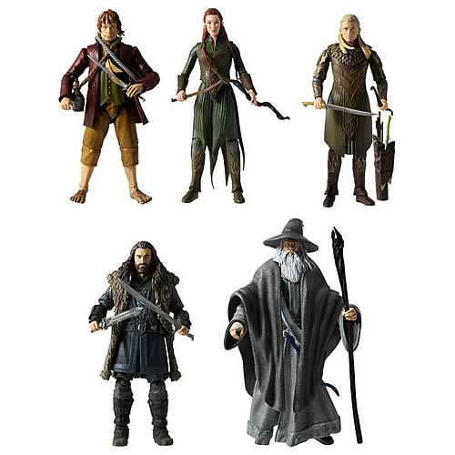 The Hobbit 6-Inch Collector Action Figures Wave 1
