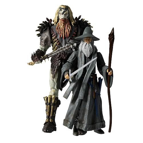 The Hobbit 3 3/4-Inch Deluxe Adventure 2-Pack Action Figures
