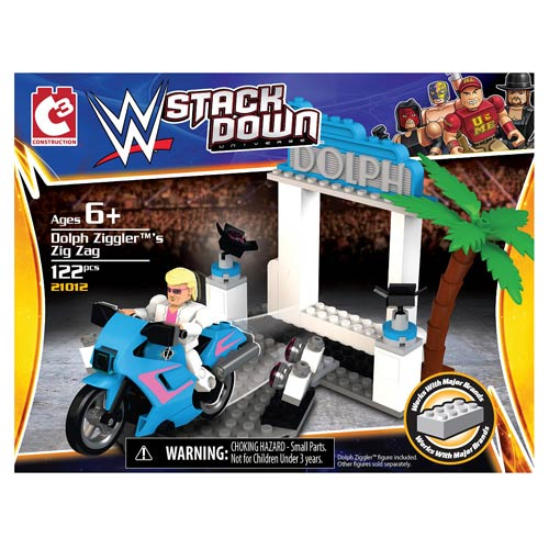 WWE StackDown Universe Dolph Ziggler's Ducati Race Playset
