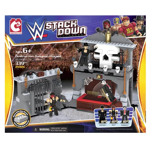 WWE StackDown Universe Destruction Dungeon Playset