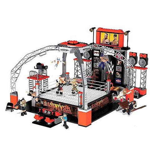 WWE StackDown Universe Deluxe Ring Playset