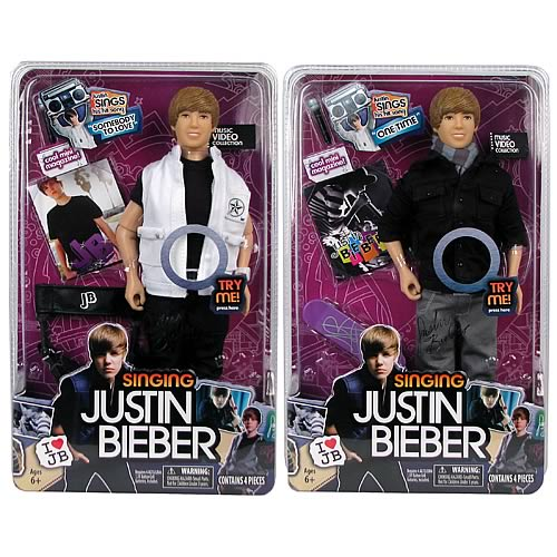 Justin Bieber 12-Inch Singing Doll Wave 2 Set