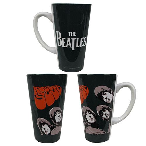 Beatles Rubber Soul 16 oz. Sublimated Latte Mug