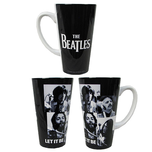 Beatles Let It Be 16 oz. Sublimated Latte Mug