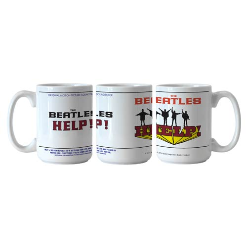 Beatles Help! 15 oz. Sublimated Coffee Mug