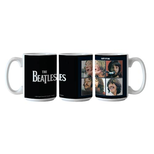 Beatles Let It Be 15 oz. Sublimated Coffee Mug