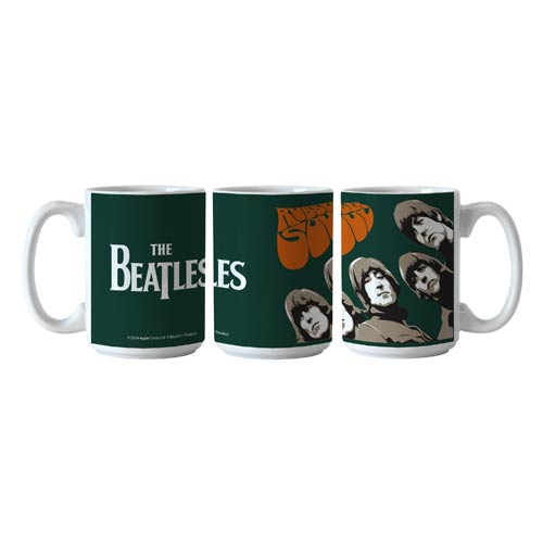Beatles Rubber Soul 15 oz. Sublimated Coffee Mug