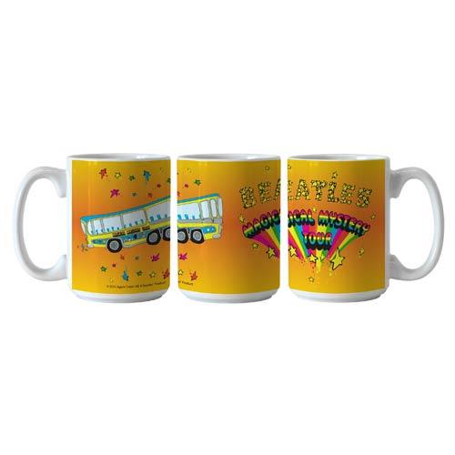 Beatles Magical Mystery Tour 15 oz. Sublimated Coffee Mug