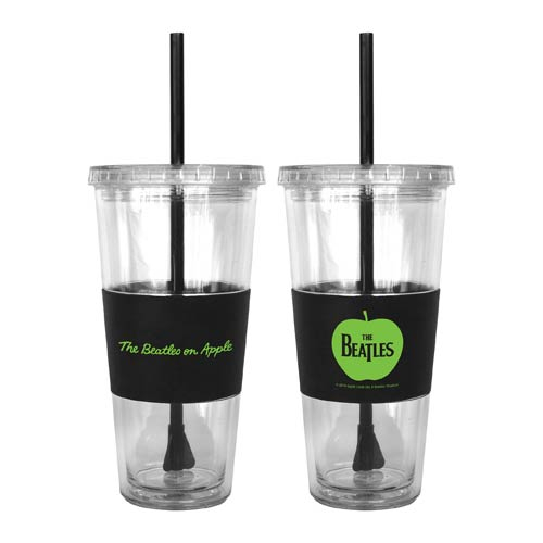 Beatles Apple 22 oz. Tumbler with Straw