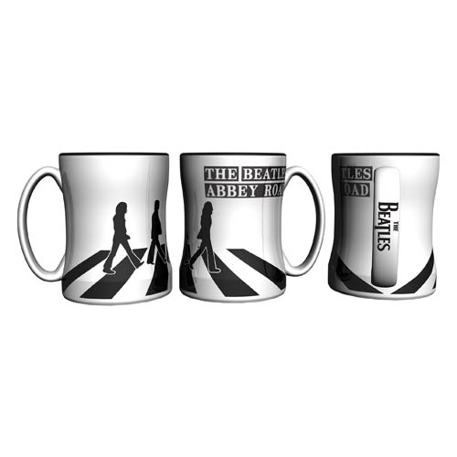 Beatles Abbey Road 14 oz. Sculpted Relief Mug