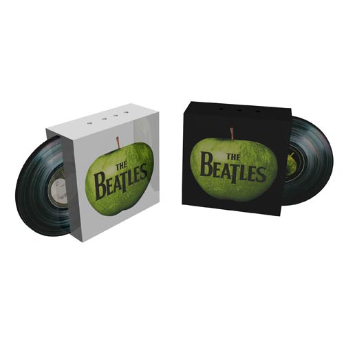Beatles Apple Sculpted Salt and Pepper Shakers