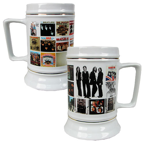 Beatles Album Covers 28 oz. Sculpted Stein