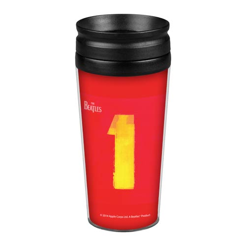 Beatles 1 Compilation Album 14 oz. Travel Tumbler