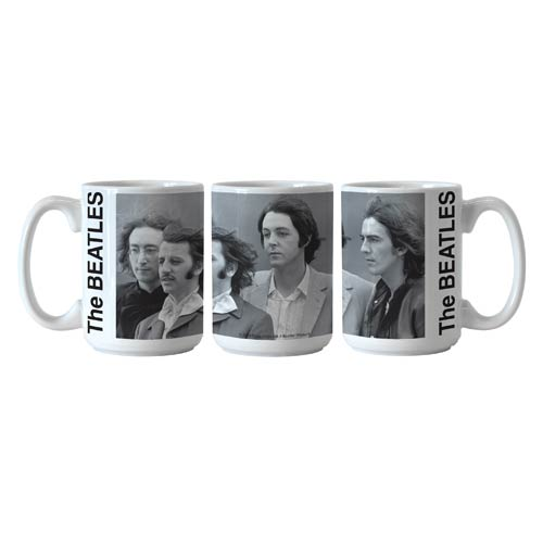 Beatles 1968 Group Photo 15 oz. Sublimated Coffee Mug