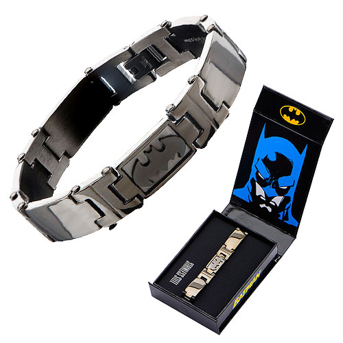 Batman Black Metal Bracelet