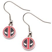 Deadpool Stainless Steel Dangle Earrings