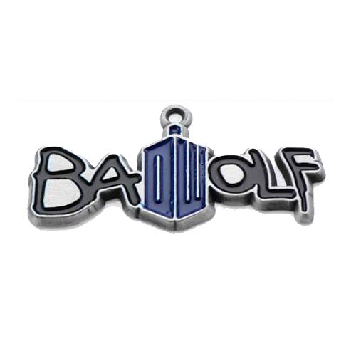 Doctor Who Bad Wolf Doctor Who Logo Pendant Necklace
