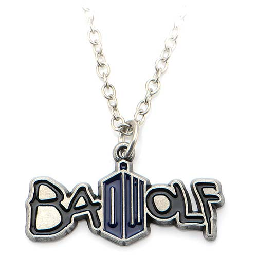 Doctor Who Badwolf Necklace