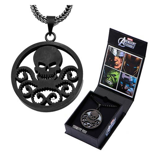 Agents of SHIELD Hydra Pendant with Chain Necklace