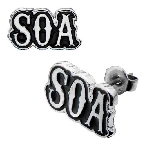 Sons of Anarchy Stud Earrings