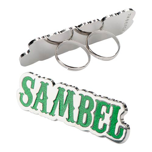 Sons of Anarchy SAMBEL Green Ring