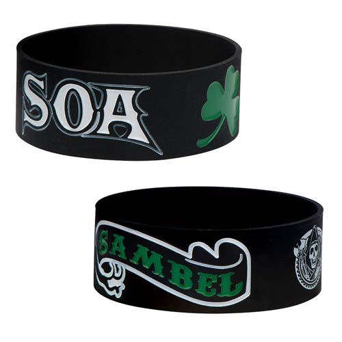 Sons of Anarchy SAMBEL Rubber Bracelet