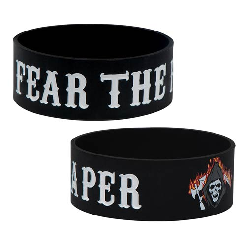 Sons of Anarchy Fear the Reaper Rubber Bracelet