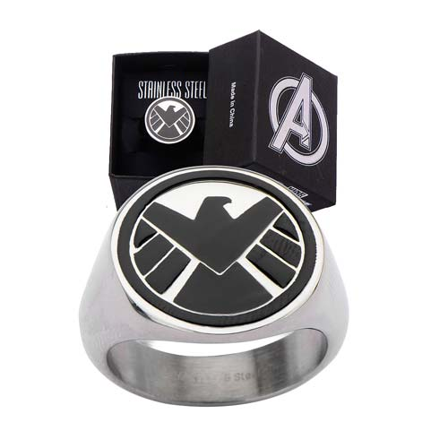 Agents of SHIELD Logo Ring