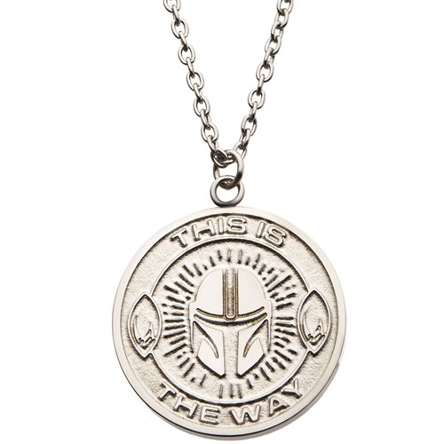 Star Wars: The Mandalorian This Is The Way Necklace