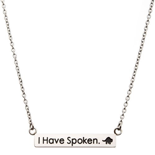 Star Wars: The Mandalorian I Have Spoken Necklace