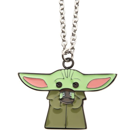 Star Wars: The Mandalorian The Child with Soup Necklace