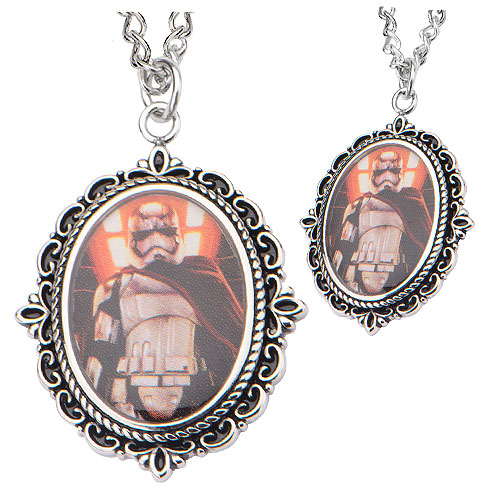Star Wars VII Captain Phasma Stainless Steel Necklace