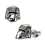 Star Wars Episode VII The Force Awakens Kylo Ren 3D Cast Stainless Steel Stud Earrings