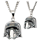 Star Wars Episode VII The Force Awakens Kylo Ren 3D Cast Stainless Steel Necklace