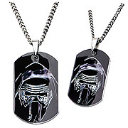Star Wars Episode VII The Force Awakens Kylo Stainless Steel Dog Tag Pendant Necklace