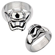 Star Wars Episode VII The Force Awakens Stormtrooper 3D Cast Stainless Steel Ring