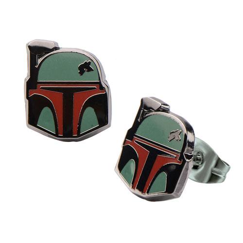 Star Wars Boba Fett Stud Earrings
